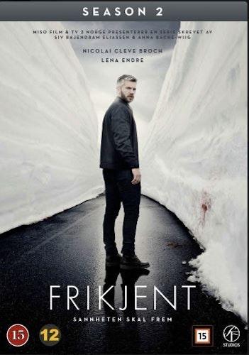 Frikjent - Säsong 2 (2-Disc) DVD