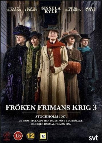 Fröken Frimans krig - Säsong 3 DVD