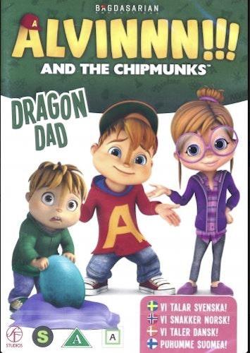Alvinnn!!! och gänget - Säsong 2: Vol 1 - Drakhussen DVD