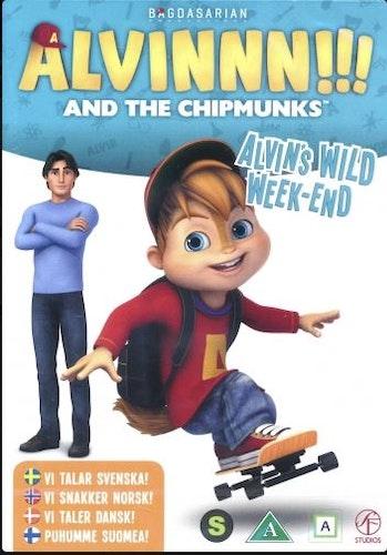 Alvinnn!!! och gänget - Säsong 2: Vol 2 - Alvins vilda helg DVD
