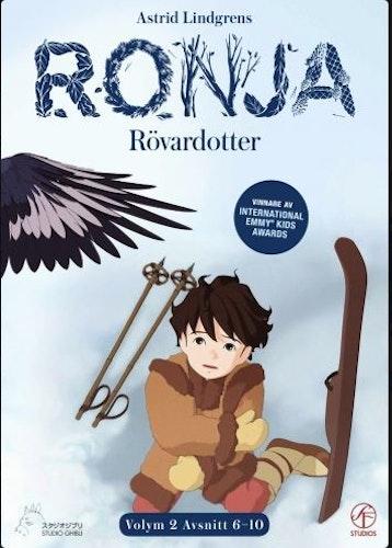 Ronja Rövardotter - TV-serien Vol 2 - Avsnitt 6-10 DVD
