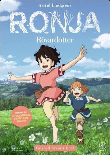 Ronja Rövardotter - TV-serien Vol 3 - Avsnitt 11-14 DVD