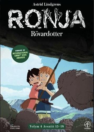 Ronja Rövardotter - TV-serien Vol 4 - Avsnitt 15-18 DVD