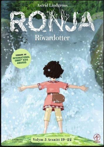 Ronja Rövardotter - TV-serien Vol 5 - Avsnitt 19-22 DVD