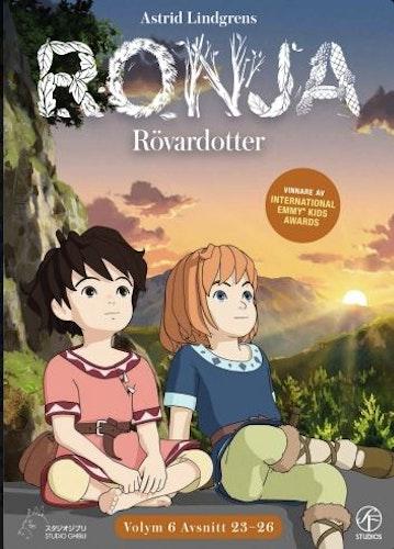 Ronja Rövardotter - TV-serien Vol 6 - Avsnitt 23-26 DVD