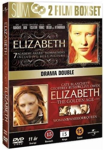 Elizabeth (1998) + Elizabeth: The Golden Age DVD