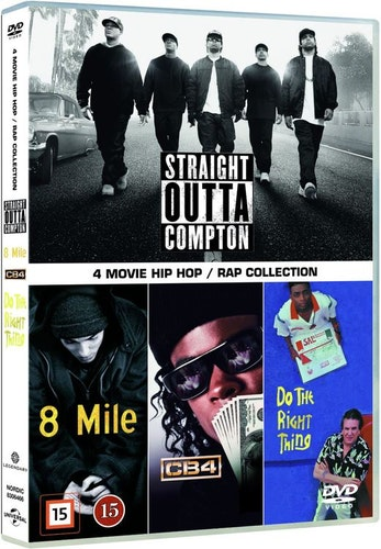 4 Movie Hip Hop + Rap Collection DVD