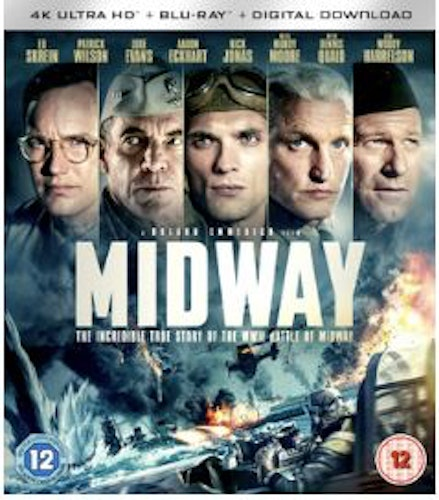 Midway 4K Ultra HD + Blu-Ray (import) med Dolby Atmos