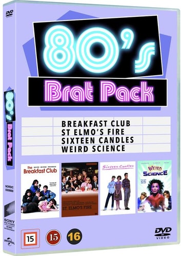 80's Brat Pack DVD