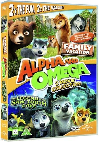 ALPHA AND OMEGA 4 & 5 DVD UTGÅENDE