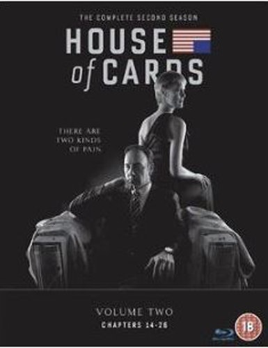 House Of Cards Säsong 2 (import med svensk text)