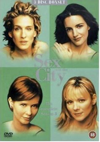 Sex And The City Säsong 3 (import med svensk text) DVD