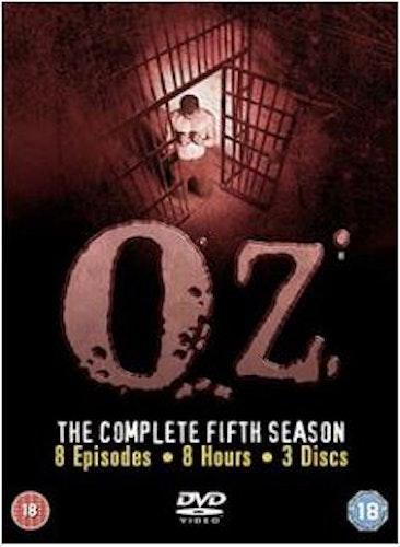 Oz säsong 5 (import med svensk text) DVD