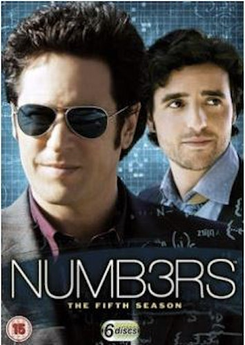 Numbers säsong 5 (import med svensk text) DVD