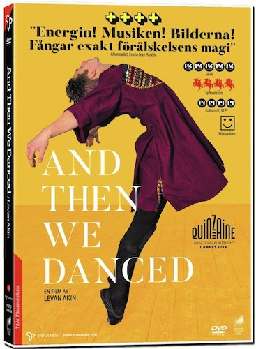 And then we danced DVD