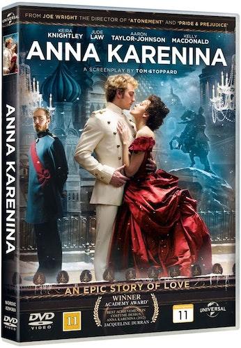 Anna Karenina (2012) DVD