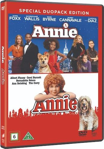 Annie (1982)+Annie (2014) DVD-box