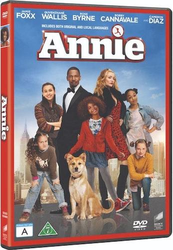 Annie 2014 DVD