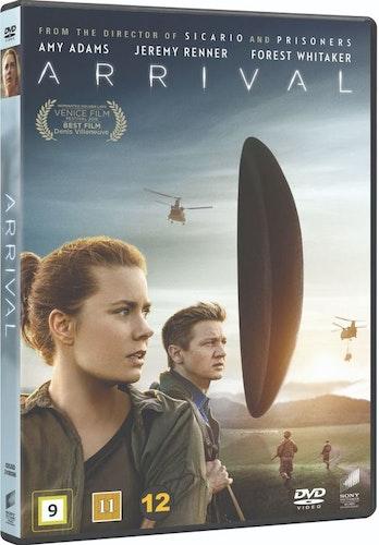 Arrival DVD