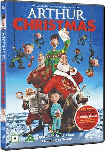 Arthur Och Julklappsrushen DVD