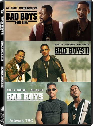 Bad Boys 1-3 DVD