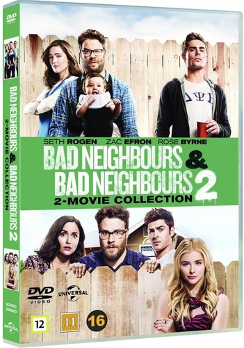 Bad neighbours 1 & 2 (2-disc) DVD