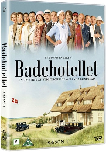Badhotellet - Säsong 1 DVD