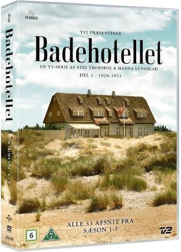 Badhotellet - Säsong 1-5 DVD