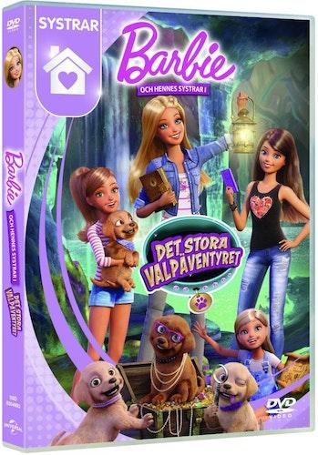 Barbie Och Hennes Systrar I Det Stora Valpäventyret DVD
