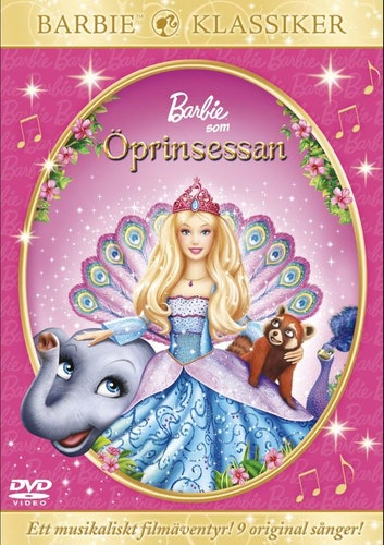 Barbie Som Öprinsessan DVD