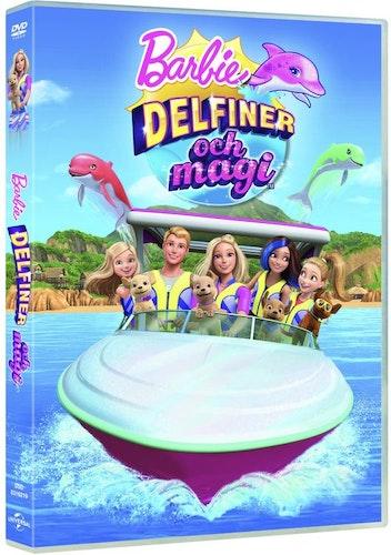 Barbie Delfiner och magi DVD