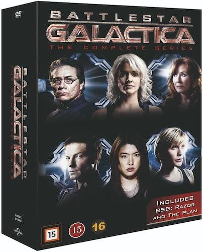 Battlestar Galactica (2004) - The Complete Series DVD