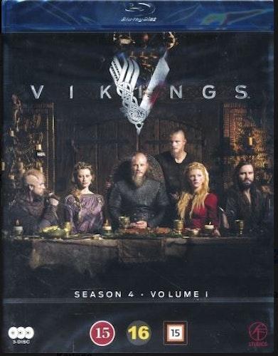 Vikings - Säsong 4 - Vol. 1 (3-disc) (Blu-ray)
