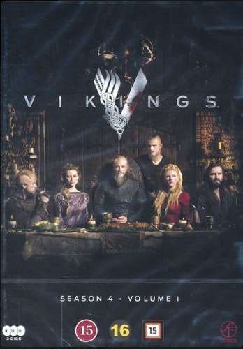 Vikings - Säsong 4 - Vol. 1 (3-disc) DVD