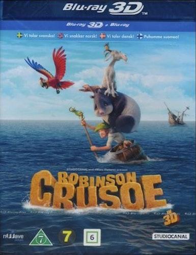 Robinson Crusoe (Blu-ray 3D)