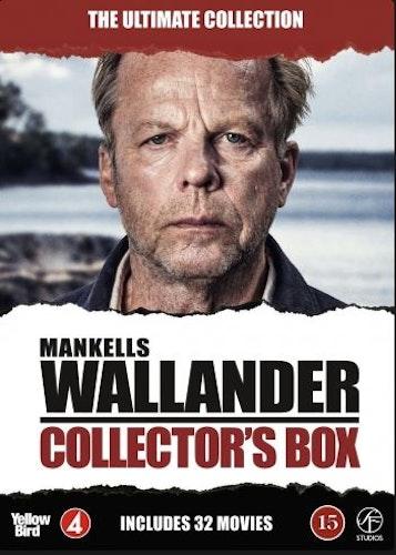 Wallander - Collector's box (22-disc) DVD