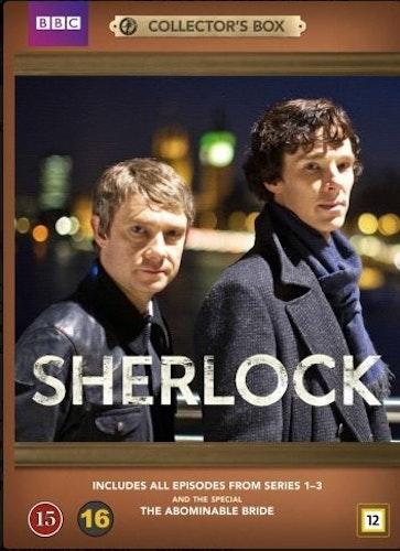 Sherlock - Säsong 1-3 + Special (7-disc) DVD