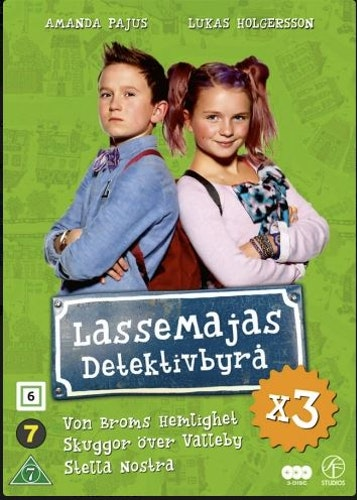 LasseMajas Detektivbyrå - Box (3-Disc) DVD