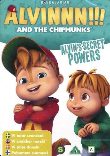 Alvinnn!!! och gänget - Säsong 1: Vol 4 - Alvins tankekraft DVD