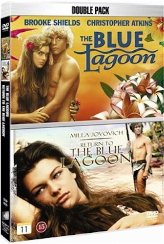 Den blå lagunen & Tillbaka till den blå lagunen (2-disc) DVD