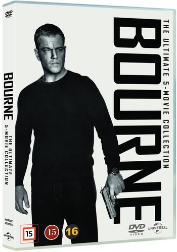 Bourne: The Ultimate 5-Movie Collection DVD