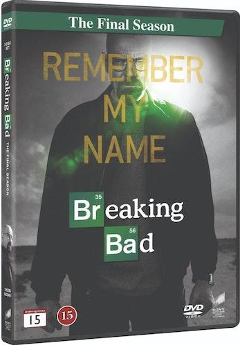 BREAKING BAD - FINAL SEASON DVD