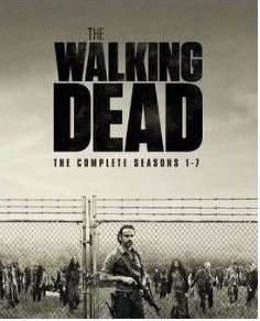 The Walking Dead säsong 1-7 bluray (import)