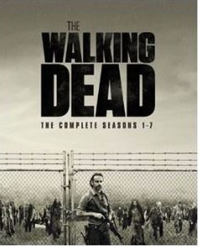 The Walking Dead säsong 1-7 bluray (import)