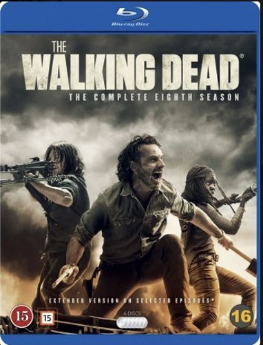 The Walking Dead - Säsong 8 bluray