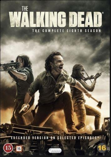 The Walking Dead - Säsong 8 (DVD)