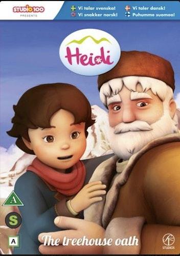 Heidi - Vol 2: Trädkojseden DVD