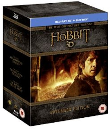 The Hobbit - Trilogy Extended Edition 3D Blu-Ray (import)