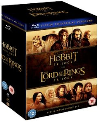 Middle Earth Collection - The Hobbit Trilogy & The Lord Of The Rings Trilogy Blu-Ray (import)