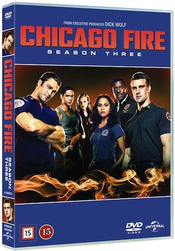 Chicago Fire - Säsong 3 DVD